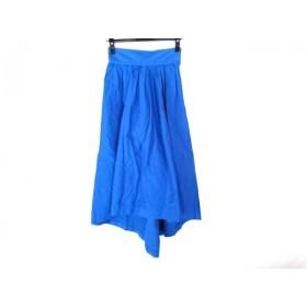 【中古】 アールビーエス RBS ロングスカート サイズ0 XS レディース ブルー
