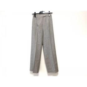 【中古】 ジバンシー GIVENCHY パンツ サイズ38 M レディース ライトグレー