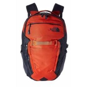 ノースフェイス メンズ バックパック・リュックサック バッグ Surge Backpack Zion Orange/Asphalt Grey