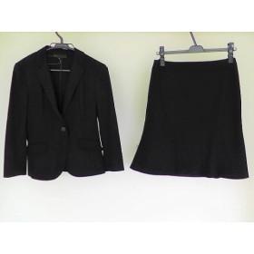 【中古】 アンタイトル UNTITLED スカートスーツ サイズ2 M レディース 黒