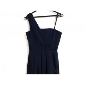 【中古】 ビーシービージーマックスアズリア BCBGMAXAZRIA ドレス サイズ2 S レディース ネイビー