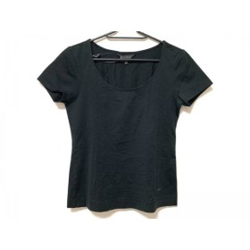 【中古】 エポカ EPOCA 半袖カットソー サイズ40 M レディース 美品 黒