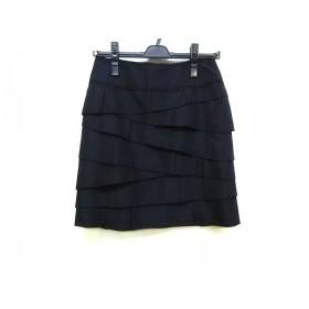 【中古】 ボディドレッシングデラックス BODY DRESSING Deluxe スカート サイズ34 S レディース 黒 フリル