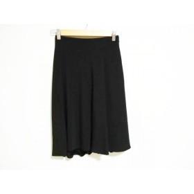 【中古】グッチ GUCCI スカート サイズ38 S レディース 黒