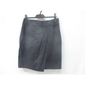 【中古】 ノーブランド スカート サイズ4 XL レディース ダークグレー