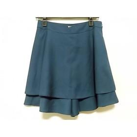 【中古】 グラスライン Glass Line パンツ サイズ9 M レディース ブルー ポリエステルレーヨン