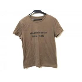 【中古】 マドモアゼルノンノン Mademoiselle NON NON 半袖Tシャツ レディース ダークブラウン