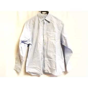 【中古】 マンシングウェア Munsingwear 長袖シャツ サイズ160 メンズ ライトブルー 綿
