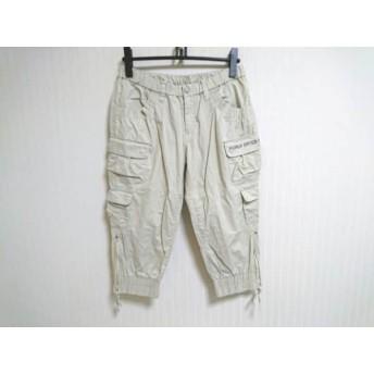 【中古】 パーリーゲイツ PEARLY GATES パンツ サイズ3 L レディース アイボリー ダークグレー