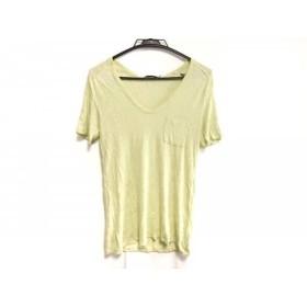 【中古】 アレキサンダーワン TbyALEXANDER WANG 半袖Tシャツ サイズXS レディース ライトグリーン
