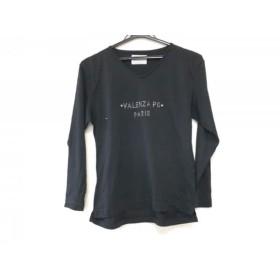 【中古】 バレンザポースポーツ VALENZA PO SPORTS 長袖Tシャツ サイズM レディース 黒