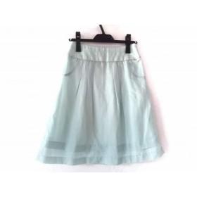 【中古】 アプワイザーリッシェ Apuweiser-riche スカート サイズ1 S レディース ライトブルー