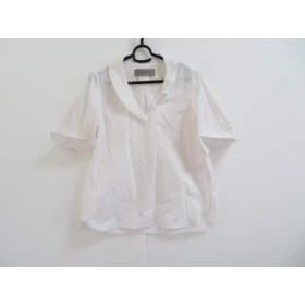 【中古】 ザシークレットクローゼット 半袖シャツブラウス サイズ1 S レディース 白 プルオーバー