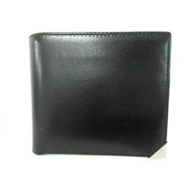 【中古】 プラダ PRADA 2つ折り財布 - M738 黒 レザー