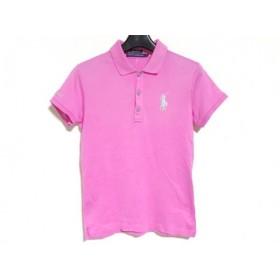 【中古】 ラルフローレンゴルフ RalphLaurenGOLF 半袖ポロシャツ サイズS レディース ピンク