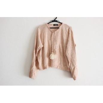 【中古】 ネネット Ne-net 長袖セーター サイズ2 M レディース ピンク