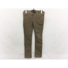 【中古】 グレースコンチネンタル GRACE CONTINENTAL パンツ サイズ38 M レディース 美品 ライトブラウン