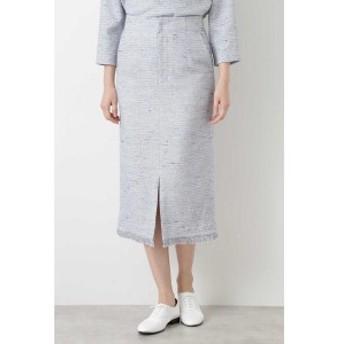ヒューマンウーマン(HUMAN WOMAN)/ツィードタイトスカート≪Rue dieu a la HUMAN WOMAN≫