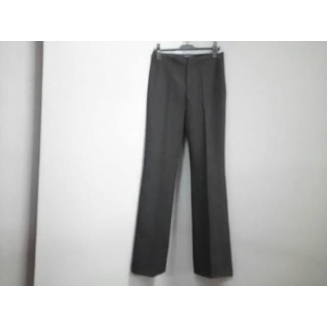 【中古】 ジョセフ JOSEPH パンツ サイズ38 L レディース ダークブラウン