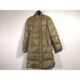 【中古】 ストラネス STRENESSE コート サイズ40 M レディース ベージュ 冬物