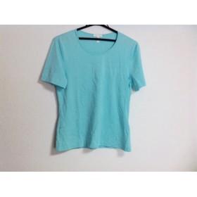 【中古】 エスカーダ ESCADA 半袖Tシャツ サイズ38 L レディース ライトブルー