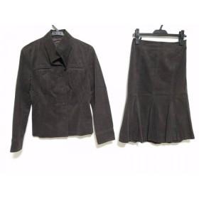 【中古】 リフレクト ReFLEcT スカートスーツ レディース ダークブラウン