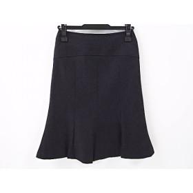 【中古】 ニジュウサンク 23区 スカート サイズ32 XS レディース 美品 ダークグレー