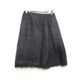 【中古】 ジルスチュアート JILL STUART スカート サイズ2 S レディース 黒