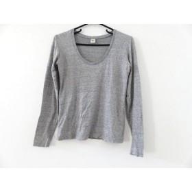 【中古】 ロンハーマン Ron Herman 長袖Tシャツ サイズS レディース グレー