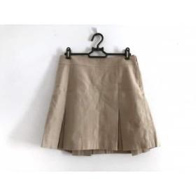 【中古】 ピンキー&ダイアン Pinky & Dianne スカート サイズ38 M レディース ベージュ