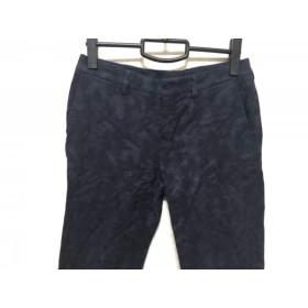 【中古】 アマカ AMACA パンツ サイズ38 M レディース ネイビー