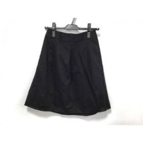 【中古】 アプワイザーリッシェ Apuweiser-riche スカート サイズ1 S レディース 黒