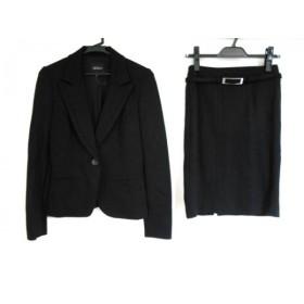 【中古】 ボッシュ BOSCH スカートスーツ サイズ36 S レディース 黒