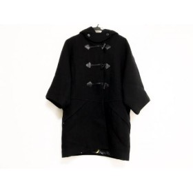 【中古】 ツモリチサト TSUMORI CHISATO ダッフルコート サイズ1 S レディース 黒 冬物