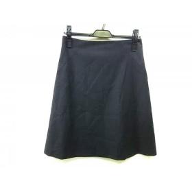 【中古】 セオリー theory スカート サイズ2 S レディース ダークグレー