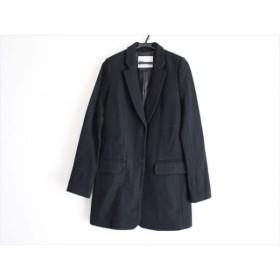【中古】 スライ SLY コート サイズ1 S レディース 黒 冬物