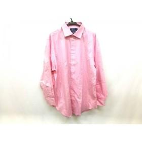 【中古】 ポロラルフローレン POLObyRalphLauren 長袖シャツ サイズ1834/35 メンズ ピンク