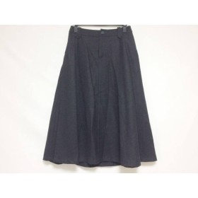 【中古】 ホコモモラ JOCOMOMOLA ロングスカート サイズ42 L レディース 黒