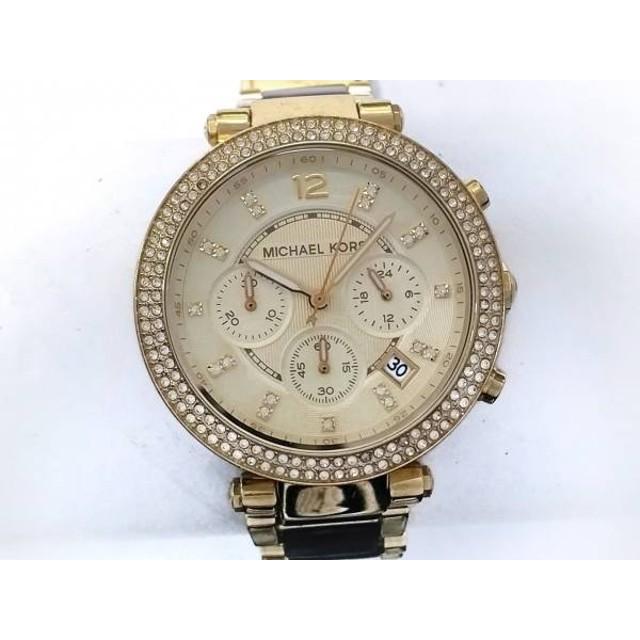 0ed41dda2a79 【中古】 マイケルコース MICHAEL KORS 腕時計 MK-5688 ボーイズ クロノグラフ/ライン