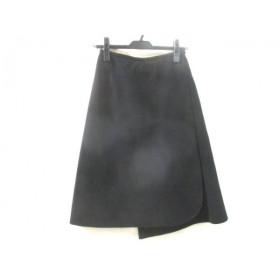 【中古】 ナチュラルビューティー NATURAL BEAUTY スカート サイズM レディース ブラック