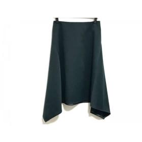 【中古】 ロイスクレヨン Lois CRAYON スカート サイズM レディース ダークグリーン