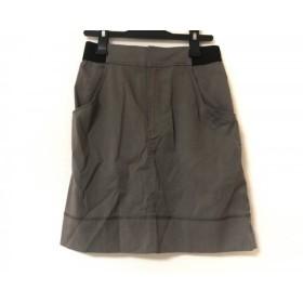 【中古】 ソニアリキエル SONIARYKIEL スカート サイズ34 S レディース ダークブラウン 黒