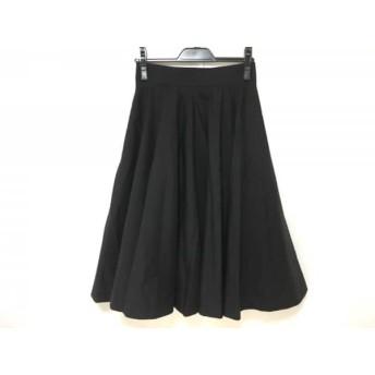 【中古】 ウィムガゼット whim gazette ロングスカート サイズ36 S レディース 黒