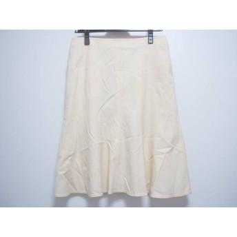 【中古】 バーバリーロンドン Burberry LONDON スカート サイズ38 L レディース アイボリー