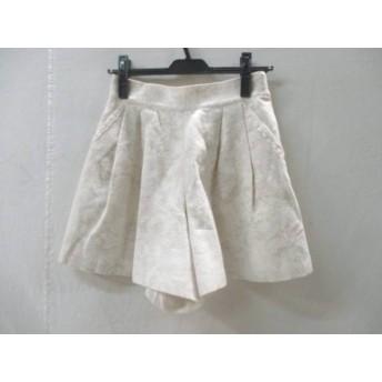 【中古】 レストローズ L'EST ROSE パンツ サイズ2 M レディース アイボリー