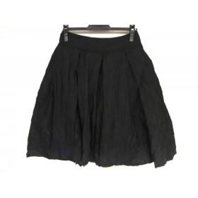 【中古】 フォクシー FOXEY スカート サイズ38 M レディース 黒