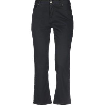 《セール開催中》TRUE NYC レディース パンツ ブラック 25 コットン 98% / ポリウレタン 2% / 牛革