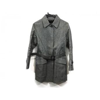 【中古】 マッキントッシュ MACKINTOSH コート サイズ32 XS レディース グレー 春・秋物