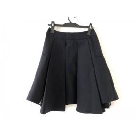 【中古】 チノ CINOH スカート サイズ36 S レディース ダークネイビー