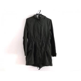 【中古】 プラステ PLS+T(PLST) コート サイズ2 M レディース ダークグリーン 冬物